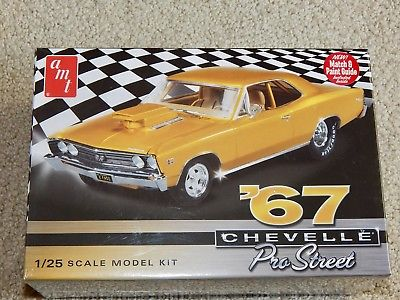 AMT 876 '67 Chevelle Pro Street Model Kit