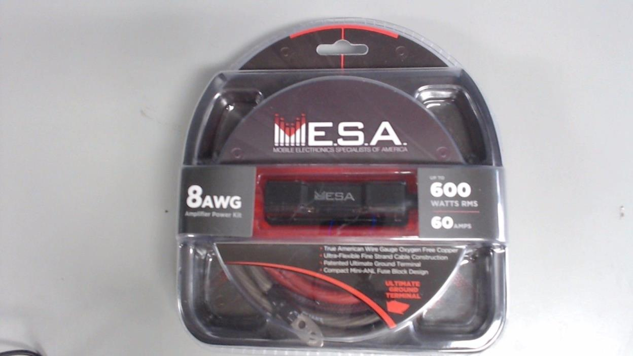 8 Ga Amp Kit For Sale Classifieds Gauge Amplifier Installation Power Wiring Ofc Ebay Mesa 8ga Awg New