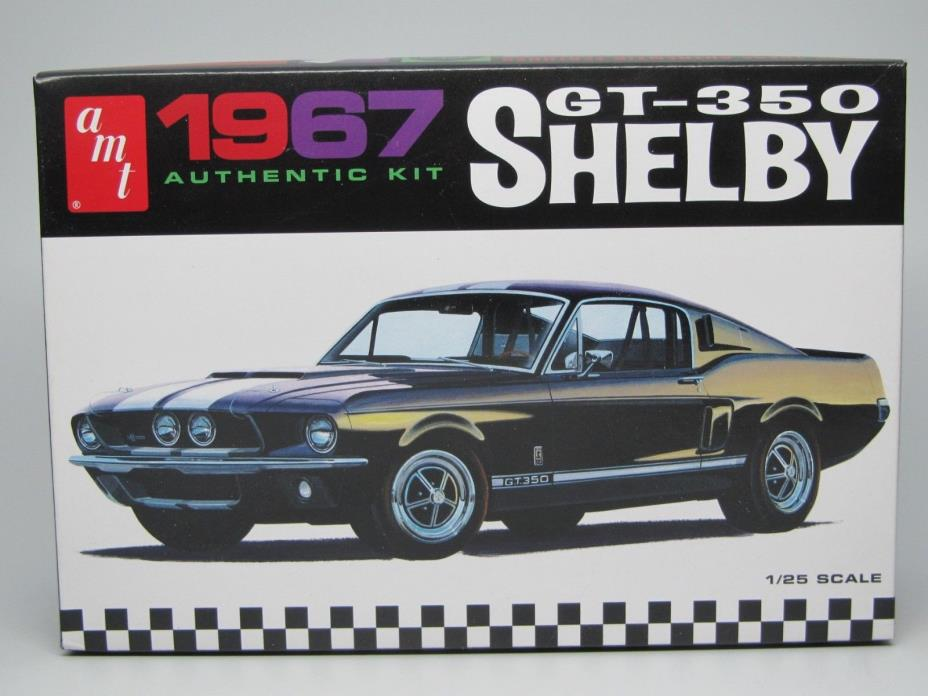 1967 Ford Mustang GT350  1/25 Scale AMT 800/12