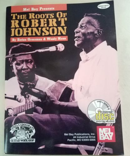 The Roots of Robert Johnson Guitar Tab Book w CD tablature BLUES son house