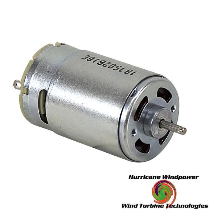 HURRICANE 12 VDC 1120 RPM DCM-1001 Motor DIY Permanent Magnet Motor