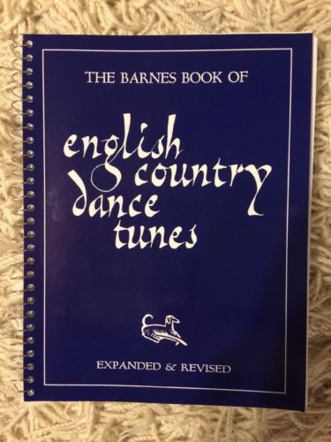 Barnes Book #1 of 436 English Country Dance Tunes — Fiddle Violin Sheet Music