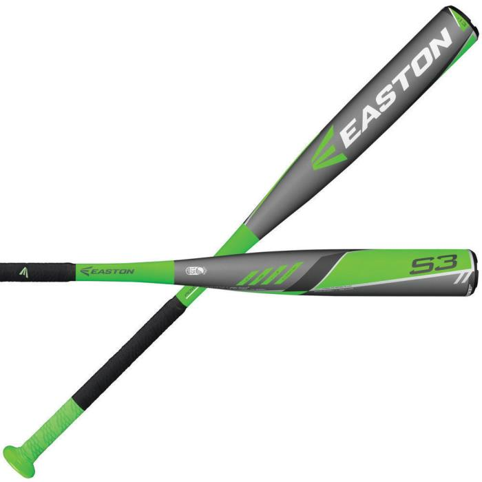 Easton XL3 ALUMINUM Youth Baseball Bat, 29