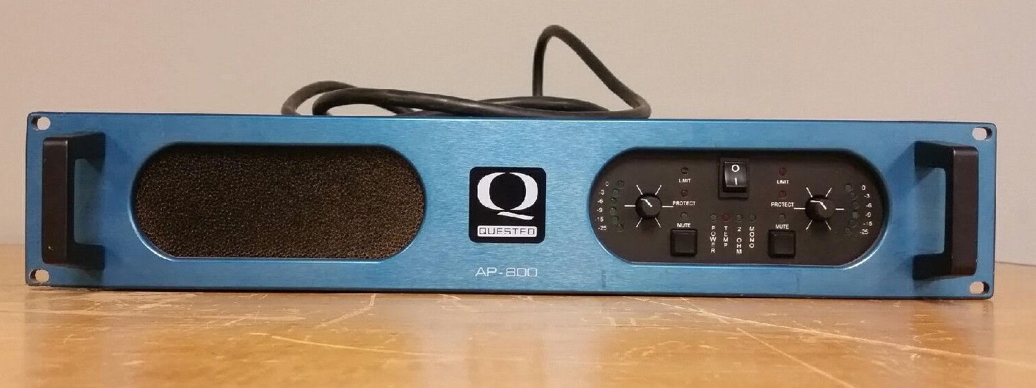 Quested AP800 2 Channel Power Amplifier