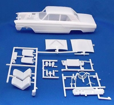 Revell 64 Ford T-Bolt Parts, Body, Frame,Suspension, Interior,Windows 1:25 st178
