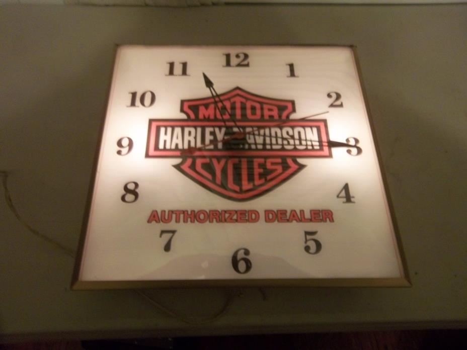 Vintage Pam Clock    HARLEY