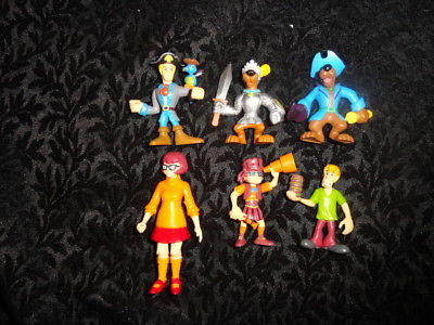 Scooby-doo Action Figure Lot   - FREE SHIPPING
