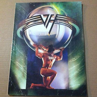 Van Halen 5150 piano vocal guitar chord Music Song Book 1986 eddie