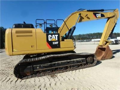 2016 CATERPILLAR 330FL HYDRAULIC EXCAVATOR CRAWLER TRACK CAT 330