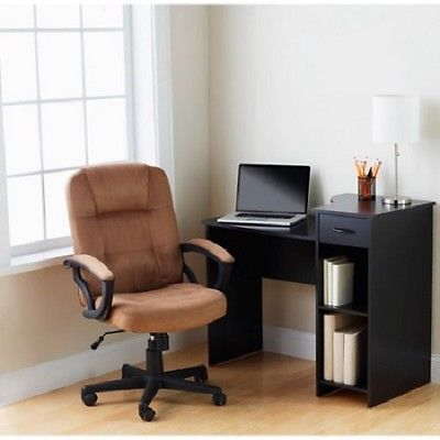 Computer Desk Furniture Desktop Table  Small Compact Corner Stand Shelf Office