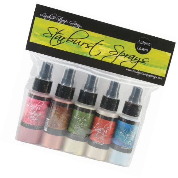 Lindy's Stamp Gang Lindy's Stamp Gang Starburst Spray Set, Autumn Leaves, 2 oz,