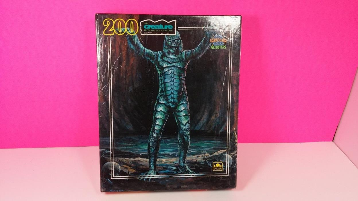 Universal Studio Monsters Creature From Black Lagoon 1990 Puzzle Unopened