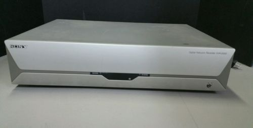 SONY SVR-2000 TiVo DVR Digital Network Recorder