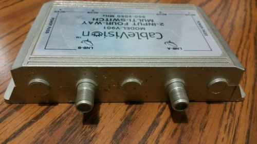 2-Input 4-Way Multi-Switch V901 Cablevision