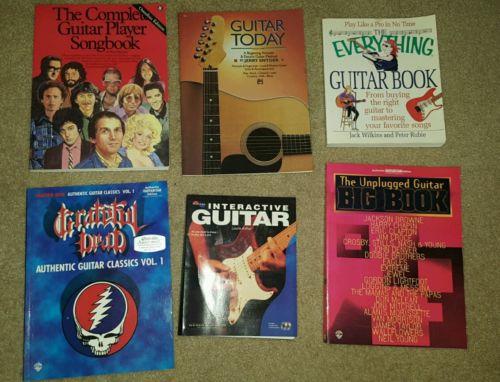 Lot of 6 Guitar Books