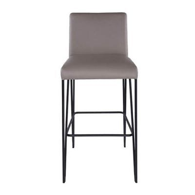 251 First Uptown Bar Stool in Taupe and Black - 209599-1972094-251