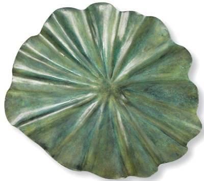 Lily Leaf Birdbath - Large [ID 3115]