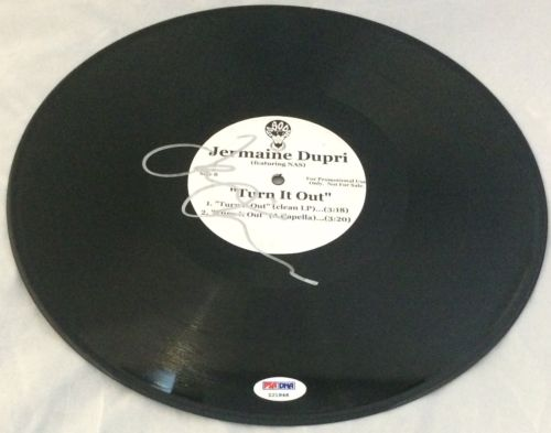 Jermaine Dupri Signed Autographed Record Album Vinyl PSA/DNA LP Turn It Out