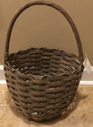 NEW Pottery Barn Nantucket Basket LARGE Easter