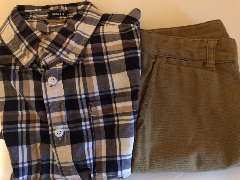 Boys Winter Clothes Sz 10 Gymboree Pants shirt prep fit