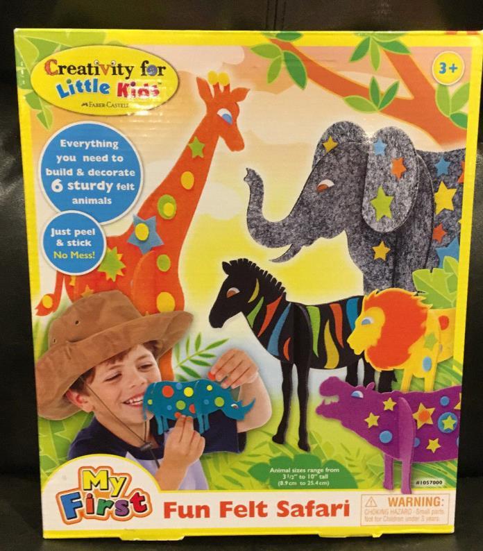 My First Fun Felt Safari / Creativity for Little Kids by Faber Castell