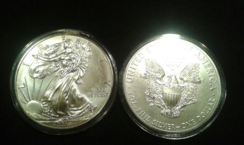 -1oz American Silver Eagle
