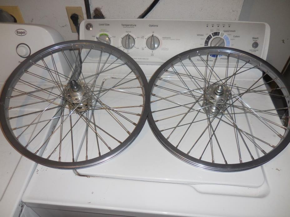 VINTAGE ARAYA 7X 20X1.50 BMX BIKE WHEELS
