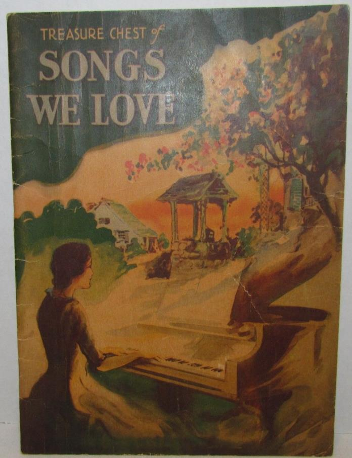 Treasure Chest of Songs We Love, 1936 Song Book