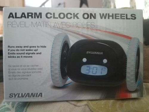 Sylvania Roll Away Alarm Clock