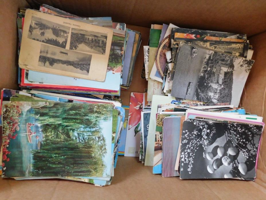 Used/Un-used! Hundreds of International Greeting cards -Disney- Vintage and New