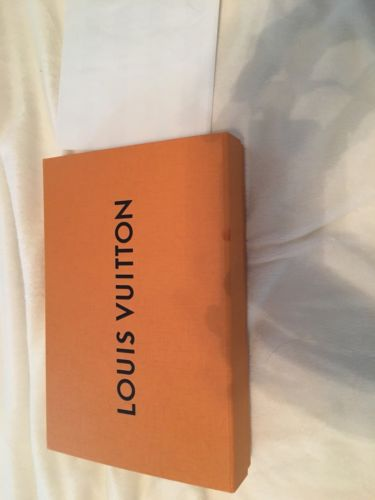 Auth Louis Vuitton Signature Yellow Box Only- 8