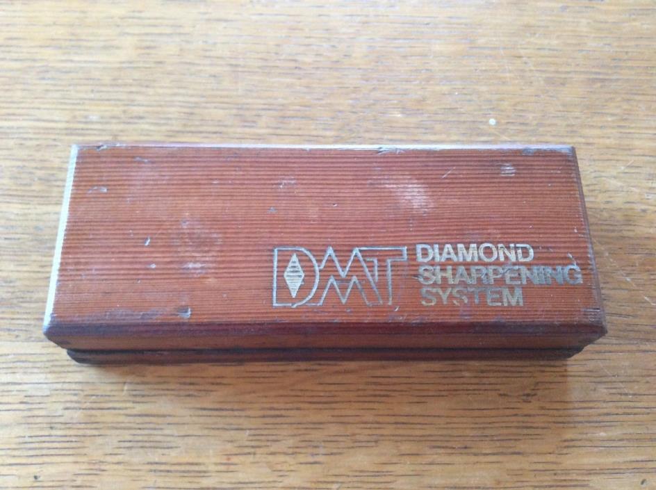 DIAMOND SHARPENING SYSTEM BOX & MISMATCHED STONE