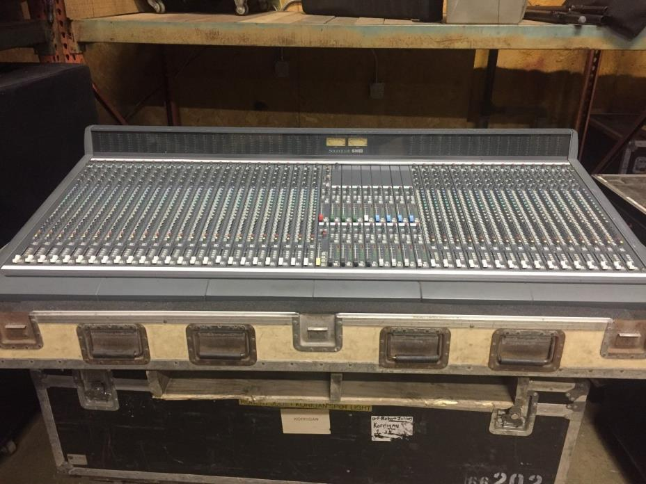 Soundcraft SM16 FOH/Monitor Analog Console w/ power supply & roadcase