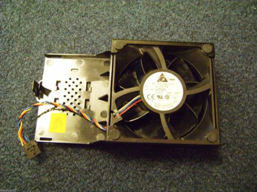 Dell Optiplex 745 Desktop SFF Case Fan w/ Shroud  Housing AFC0912DF