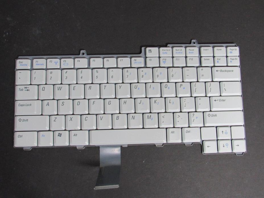 Dell Inspiron XPS M1710 Grey Keyboard 0WG343