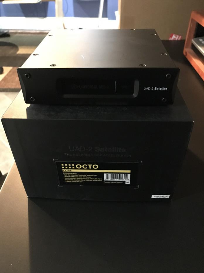 Universal Audio UAD-2 Satellite Thunderbolt OCTO Core + 40 Plugins