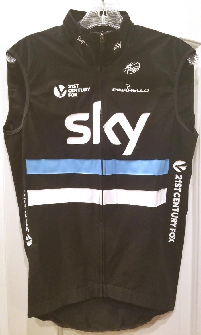 *IAN STANNARD ISSUE* Rapha Team Sky Shadow Softshell Gilet Vest Chris Froome
