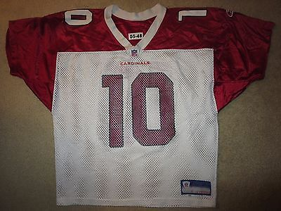 Arizona Cardinals #10 NFL Practice Game Worn Used Reebok Jersey