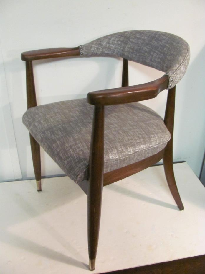 Fine Vintage Mid century Modern Pull Up Arm Chairs