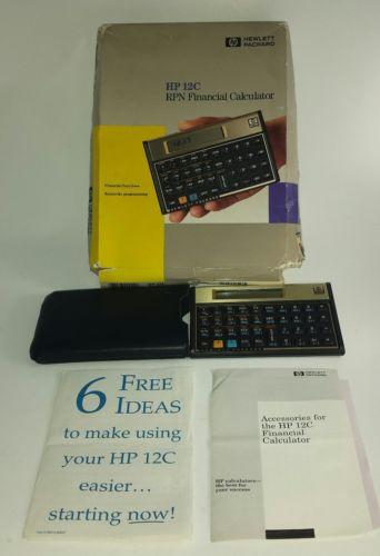 HP 12c RPN Financial Calculator