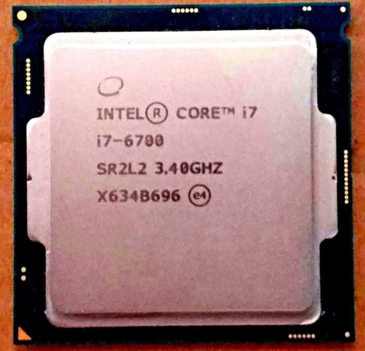 Intel Core i7-6700 3.4GHz Quad-Core Processor