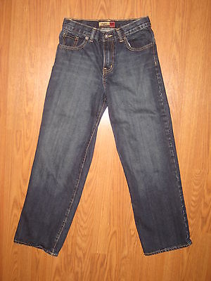 NICE BOY'S OLD NAVY STRAIGHT DENIM JEANS  SZ 14 REGULAR  26 X 27  ~EUC~