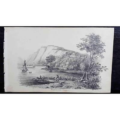 Antique Original British Pencil Drawing, circa 1823, #8 of 8 -
