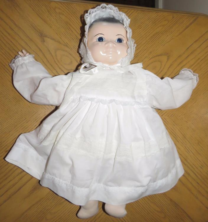 Porcelain/Bisque? and Cloth Baby Doll 19