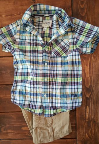 LOT of 2 boy's outfit, shirt and pants, Children's Place, size 4