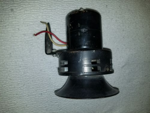 Vintage 1960's style Police/ Fire Siren in working condition. 12 volt.