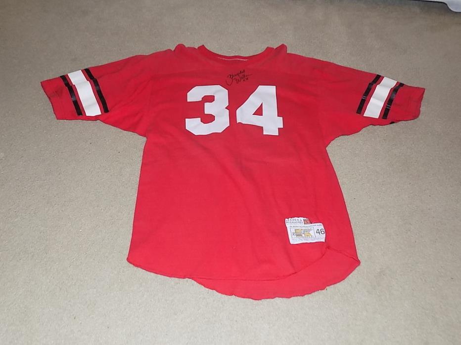 Herschel Walker Signed Georgia Bulldogs Practice Jersey 1980-81