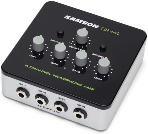 Samson QH4 4-Ch Headphone Amplifier