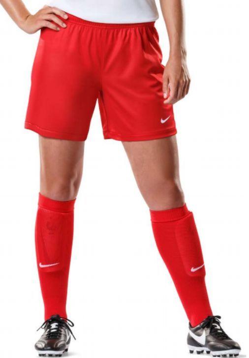 New Nike Women's M Digital Equalizer Short Soccer Futbol Shorts $60 Red
