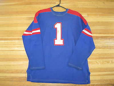 1943 Game worn Cleveland Barons Goalie jersey